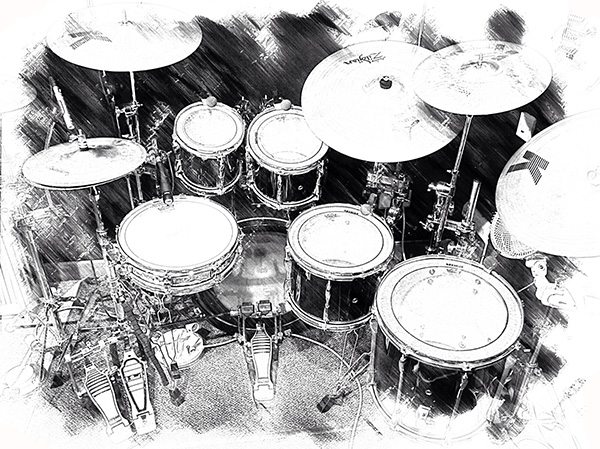 Acoustic Drum Kit